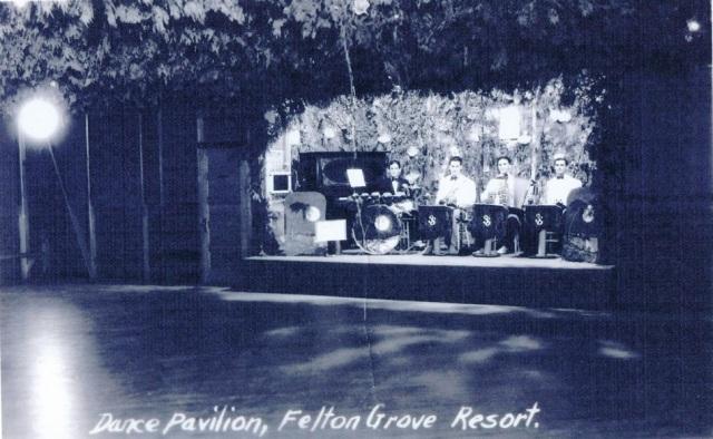 Felton Grove Dance Pavilion circa 1940's (aka Dance Hall).