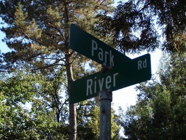 Park Ave. and River Rd.