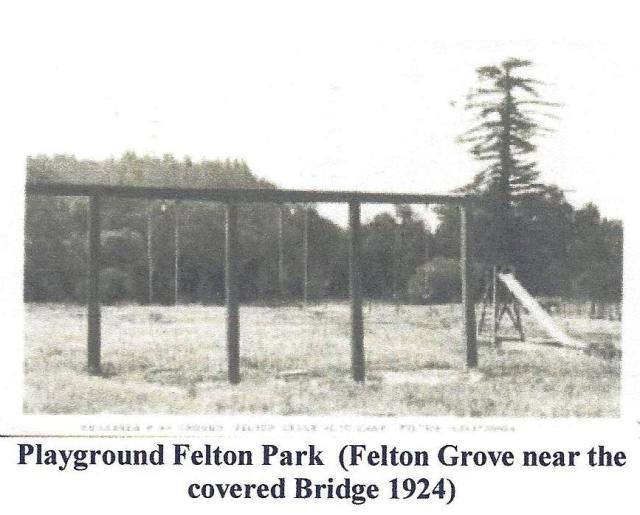 Felton Park at Felton Grove 1924