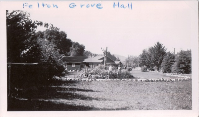 Felton Grove Hall and Circle #1. Patsy Wright Collection.