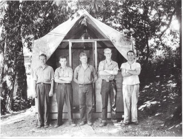 Camp Counselors, Felton Grove June 1936
