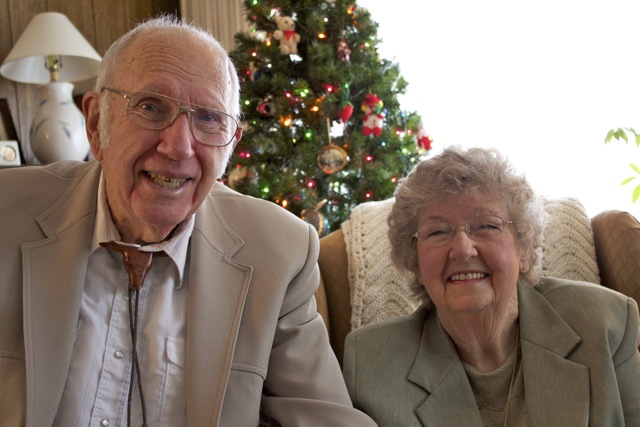 Bob and Marilyn Miller 60th Wedding Anniversary Courtesy Miller Family
