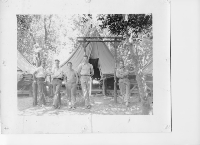 Campers at Felton Grove, 1936. Courtesy of MAH (Museum of Art and History), Captain Ed's Boyland Collection.