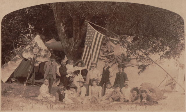 Probably Felton Grove, then called Maple Grove 1892. Courtesy of Ed Herny.
