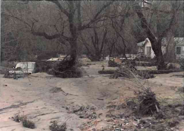 529 River Rd, right after Jan 4, 1982 Flood. Courtesy of Bill Cree.