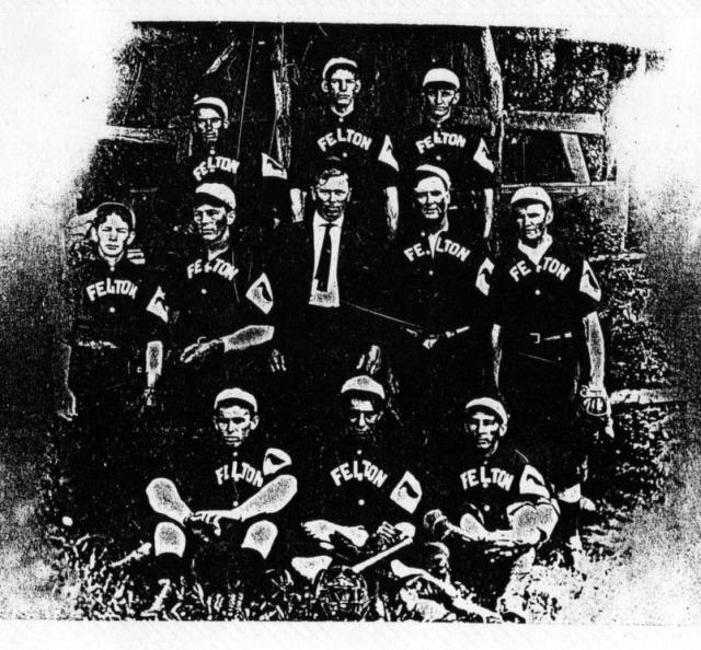 Felton Woodpeckers Baseball Team.