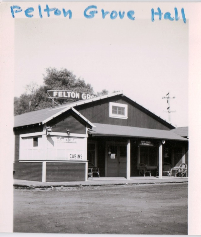 Felton Grove Dance Hall 1942. Courtesy of Patsy Wright.