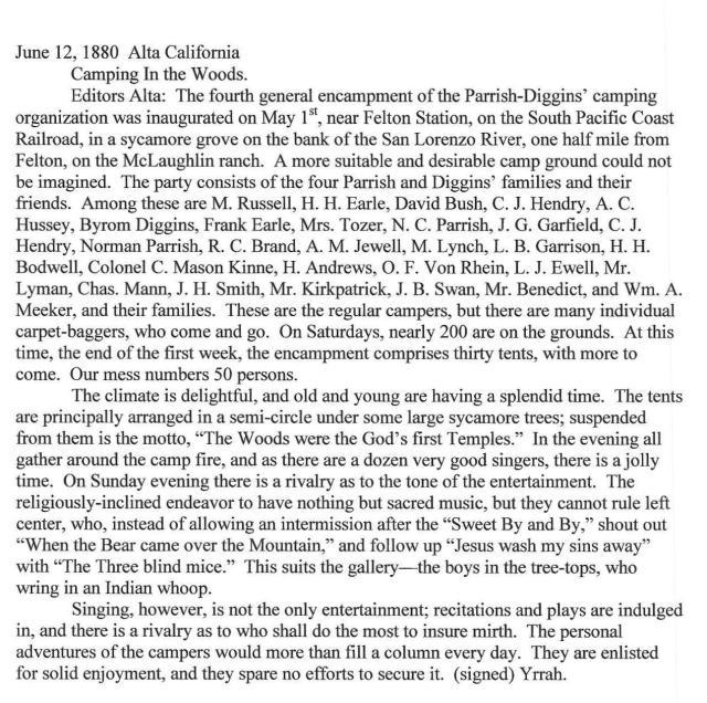From paper Alta California. June 12, 1880
