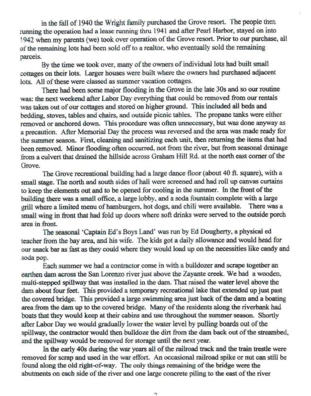 Bob Wright's Story page 3