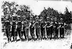 509 ca. 1908 Felton Woodpeckers Baseball